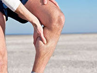 Уплотнение на икре ноги немного болит при надавливании