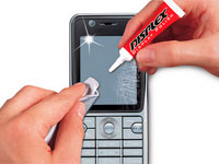 царапины на телефоне