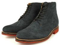 нубуковые ботинки