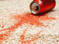 Пятна на ковре
