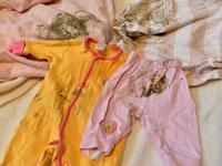 Пятна плесени на одежде