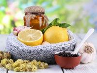 травы, лимон