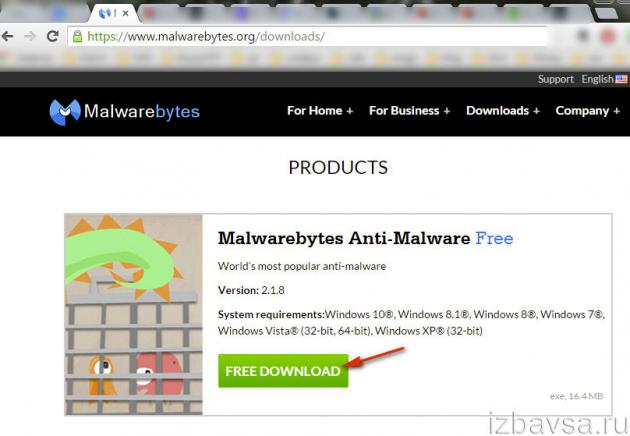 загрузка Anti-Malware Free