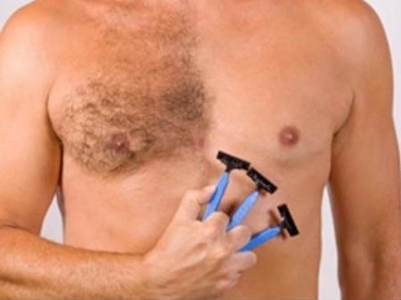 Удаление волос бритвой