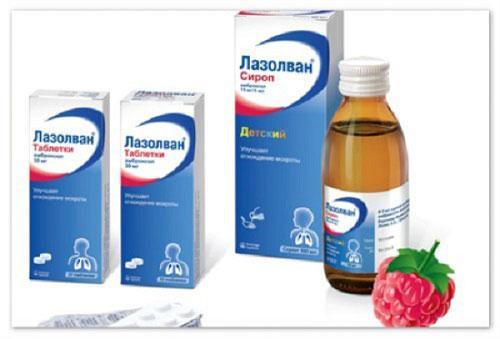 Препараты от кашля