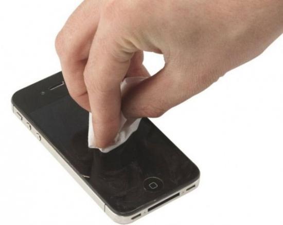 Удаление царапин с телефона