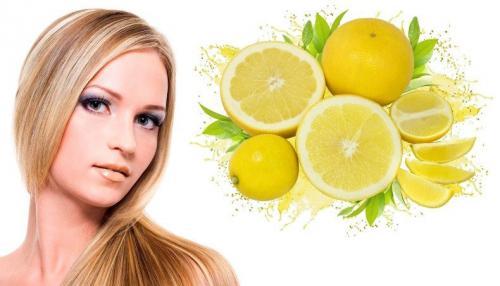 Ополаскивание волос водой с лимонным соком