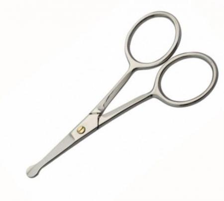Специальные ножницы для удаления волос в носу