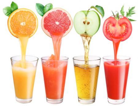 фрукты и соки