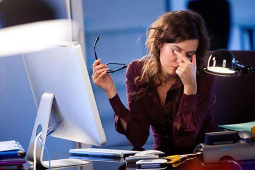 Усталость глаз при работе за монитором