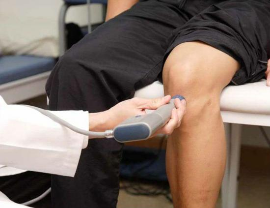 Физиотерапия на коленный сустав