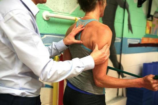 ЛФК для плечевого сустава