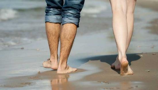 Прогулка по пляжу