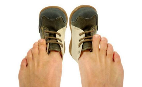 Маленькая обувь