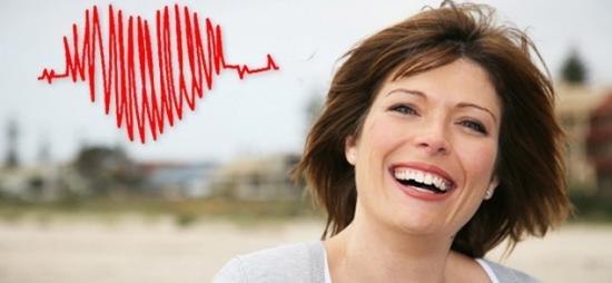 Работа сердца у женщины