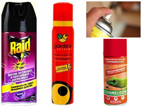 Химические средства от мошек
