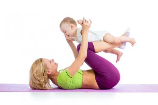 упражнения с малышом