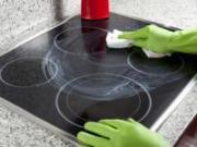 Очищение керамической плиты от нагара