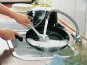Отмывание сковороды