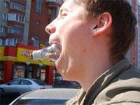 Как самостоятельно вытащить лампочку изо рта?