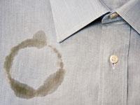 Пятно от растительного масла на одежде