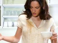 Пятно от чая на одежде